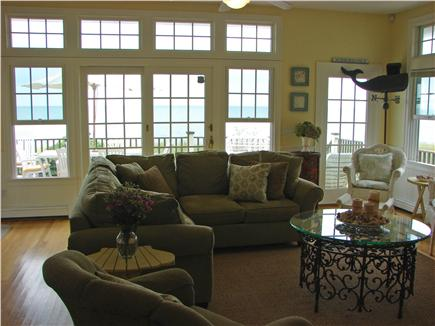Popponesset Beach - Mashpee Cape Cod vacation rental - Enjoy fabulous ocean views from comfort of your living room
