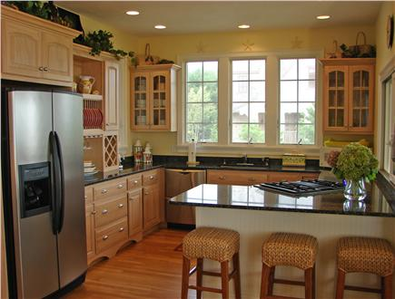 Popponesset Beach - Mashpee Cape Cod vacation rental - Modern and beautiful kitchen with upscale amenities