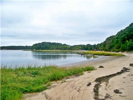 East Orleans Cape Cod vacation rental - Private Pleasant Bay beach ½ mile walk or drive from house