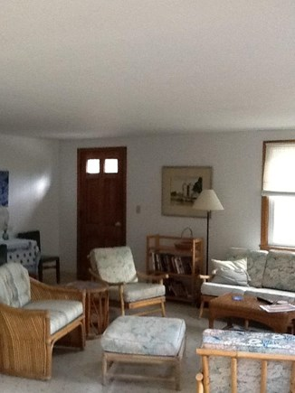Wellfleet Cape Cod vacation rental - Both front and deck doors enter into the living area.