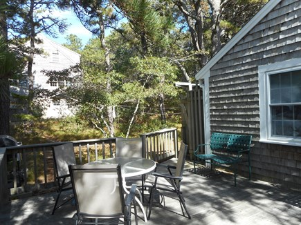 Wellfleet Cape Cod vacation rental - The outdoor shower,off the deck -perfect for washing off the sand
