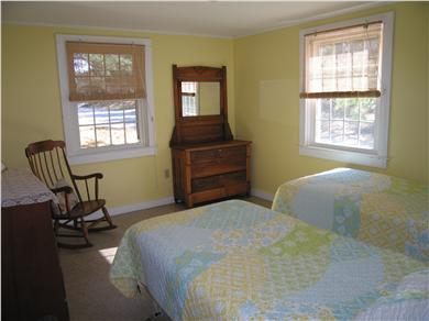 Wellfleet Cape Cod vacation rental - Front Bedroom,twin beds