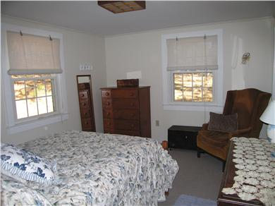 Wellfleet Cape Cod vacation rental - master bedroom double bed