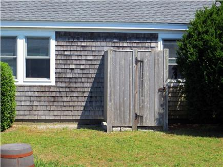 Centerville Centerville vacation rental - Outdoor shower with hot and cold water