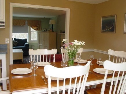Chatham Cape Cod vacation rental - Dining Room looking into Living Room