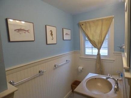 Chatham Cape Cod vacation rental - Full bathroom with shower and tub