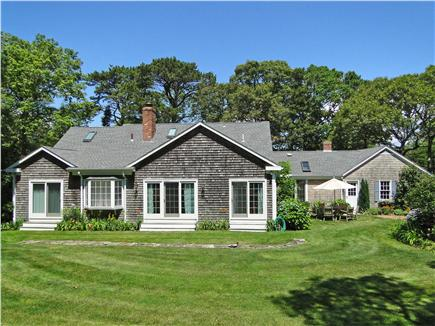 Chatham Cape Cod vacation rental - Play and relax in the enlarged back yard, flowers for cutting