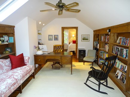 Chatham Cape Cod vacation rental - Upstairs playroom/office nook (computer, printer, Wi-Fi internet)