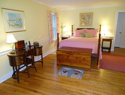Chatham Cape Cod vacation rental - Large main floor master suite with queen bed and private bath....