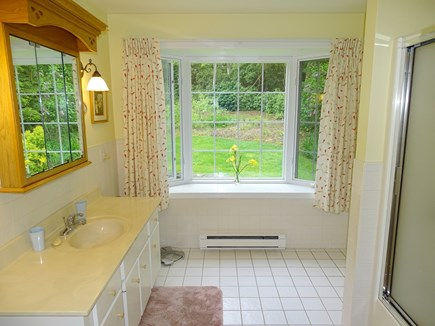 Chatham Cape Cod vacation rental - Large master bath with shower, adjacent to walk in closet