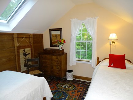 Chatham Cape Cod vacation rental - Upstairs twin bedroom with skylight