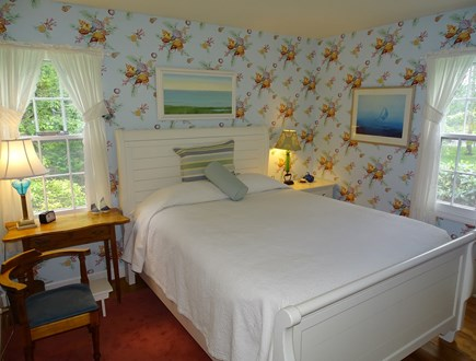 Chatham Cape Cod vacation rental - Main floor guest bedroom with new queen-size bed