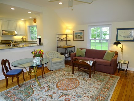 Chatham Cape Cod vacation rental - Another view of family room, facing kitchen