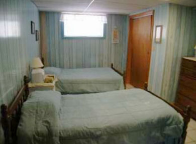 North Eastham Cape Cod vacation rental - Bedroom4-new twin mattresses, AC
