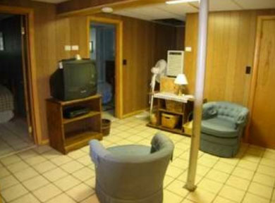 North Eastham Cape Cod vacation rental - Recreation Room w table tennis and TV, laundry, bathroom