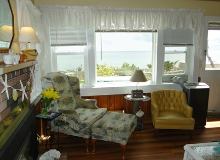 Dennis Port Sea Street Beach Cape Cod vacation rental - Incredible water views from the living room