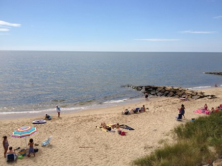 Dennis Port Sea Street Beach Cape Cod vacation rental - Sea Street Beach – 100 steps from cottage