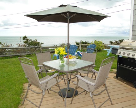 Dennis Port Sea Street Beach Cape Cod vacation rental - Enjoy panoramic ocean views from cottage