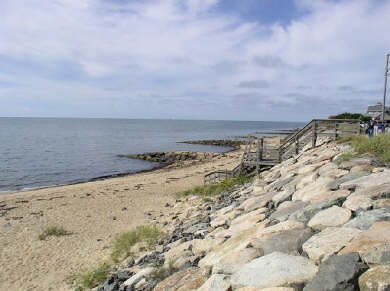 Dennis Port Cape Cod vacation rental - Sea Street Beach about 100 steps from cottage