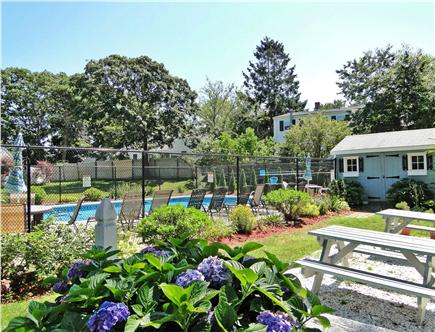 Dennisport Cape Cod vacation rental - Well landscaped perfect for a picnic