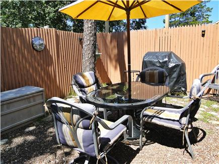 Dennisport Cape Cod vacation rental - Outdoor dinning