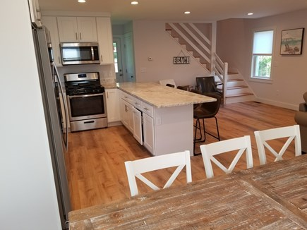 Harwich Port Cape Cod vacation rental - Dining and kitchen, open floorplan, great for entertainment