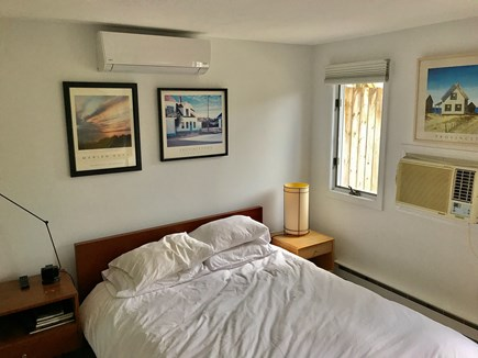 Provincetown Cape Cod vacation rental - Rear bedroom with queen bed.