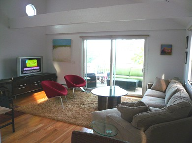 Provincetown Cape Cod vacation rental - Living