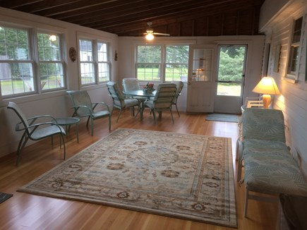 West Yarmouth crowell and seag Cape Cod vacation rental - Large new Florida room - our favorite place to relax