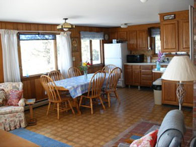 Wellfleet Cape Cod vacation rental - Entering to the Living-Dining area all with sweeping waterviews