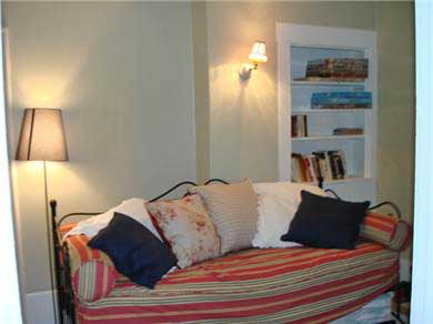 Wellfleet Cape Cod vacation rental - Den area with TV, also trundle sleeping if need be!