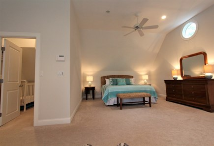 Barnstable Cape Cod vacation rental - King Bedroom, Walk-In Closet, Crib & Lounge Area/Twins - 2nd flr