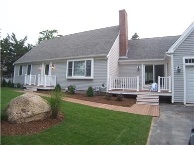 Barnstable Cape Cod vacation rental - Front of the Home