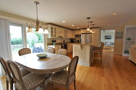 Barnstable Cape Cod vacation rental - Eat in Ktchen
