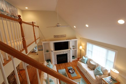 Barnstable Cape Cod vacation rental - View form 2nd floor of living area