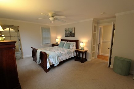 Barnstable Cape Cod vacation rental - Queen Bedroom, Built-Ins, Closet - 1st Floor