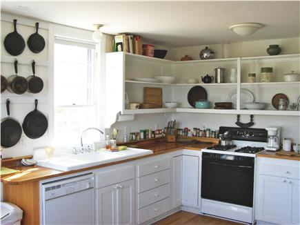 Wellfleet (National Seashore) Cape Cod vacation rental - Large eat-in Kitchen