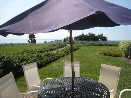 New Seabury New Seabury vacation rental - Patio facing South to Beach and Martha's Vineyard