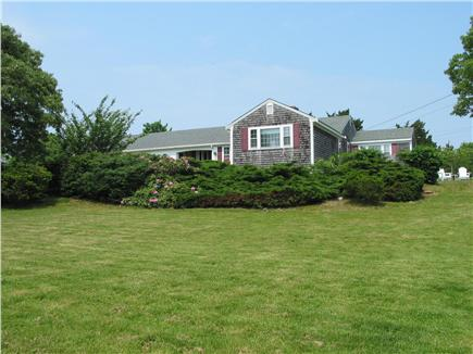 Eastham Cape Cod vacation rental - House sits on a private 1.5 acre lot. Lots of room for yard games