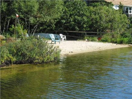Eastham Cape Cod vacation rental - Great semi-private beach with dock to enjoy!