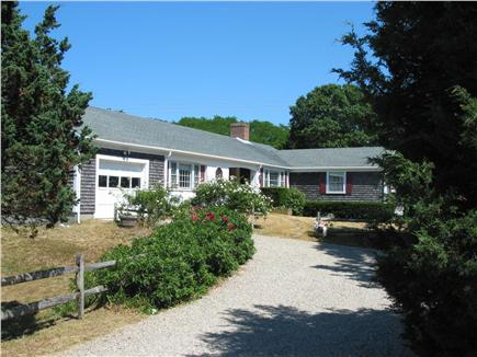 Eastham Cape Cod vacation rental - House at the end of a 50 yard driveway, Large Private Yard