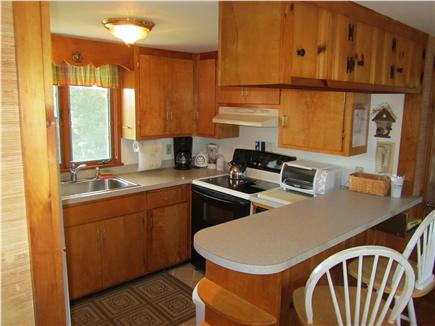 Eastham Cape Cod vacation rental - Fully Applianced Kitchen with Breakfast Bar
