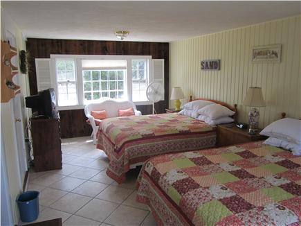 Eastham Cape Cod vacation rental - Yellow Room with two Queen beds and private bath (15ft x 23ft)