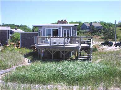 Fisher Beach, Truro, Cape Cod Cape Cod vacation rental - Deck