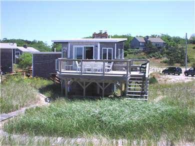 Fisher Beach, Truro, Cape Cod Cape Cod vacation rental - Deck