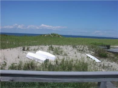 Fisher Beach, Truro, Cape Cod Cape Cod vacation rental - View from deck