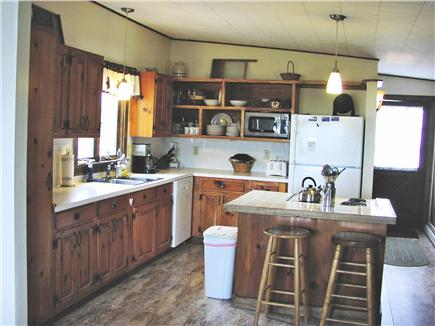 Fisher Beach, Truro, Cape Cod Cape Cod vacation rental - Kitchen with Island and Breakfast Bar