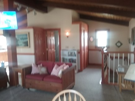 Next to Fisher Beach, Truro, C Cape Cod vacation rental - View to back of living area