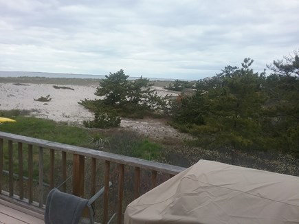 Next to Fisher Beach, Truro, C Cape Cod vacation rental - Views from deck.