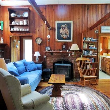Brewster Cape Cod vacation rental - Living Room from entry from porch